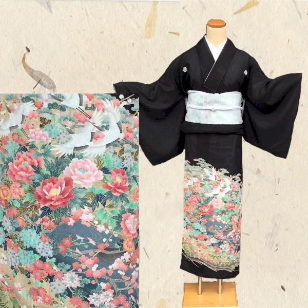 黒留袖|夏絽No.667